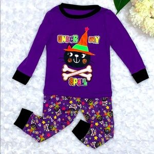 Baby Girl Two Piece Cat Pajamas Size 12 Months